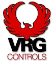 The VRG logo represents high performance control instrumentation for natural gas regulation
