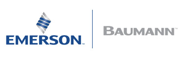 The Emerson Baumann product identity represents Baumann's line of utility and specialty service control valves